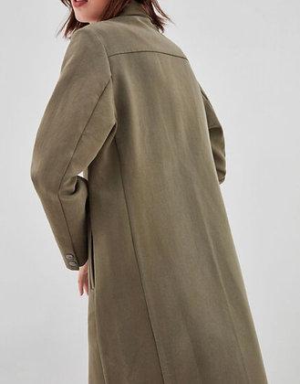 Veste cavalière coton kaki