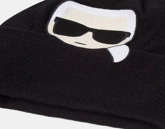Bonnet noir Karl lagerfeld taille unique
