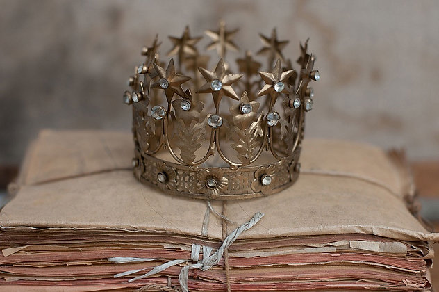 Mini couronne strass