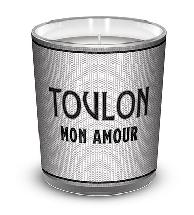 Bougie 250g Toulon mon amour