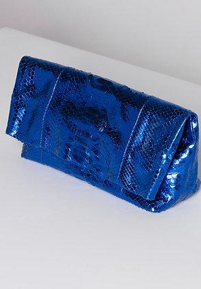 Pochette Bono python bleu gitane