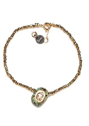 Bracelet hématite et turquoise lsonge