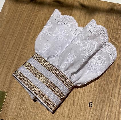 Manchette dentelle à rajouter sous un pull , sweat , chemise