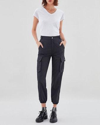 Pantalon Baggy navy black