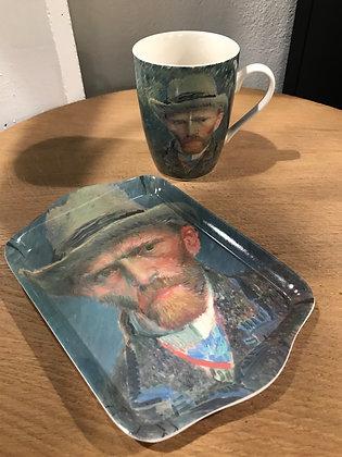 Ensemble Mug & son plateau Van Gogh