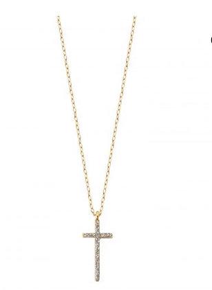 Collier Croix Lsonge XL