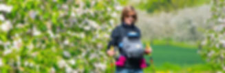 Conditietraining met baby - Belly2Belly Walking. Zoniënwoud
