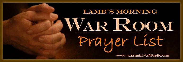 War Room Prayer List 2017 banner large.j