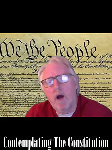 Contemplating The Constitution - No show this week