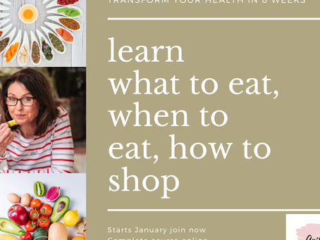 Learn online what, how and when to eat - with Anita J Nutrition