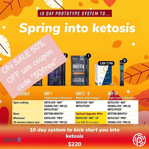 Spring into Ketosis Pack