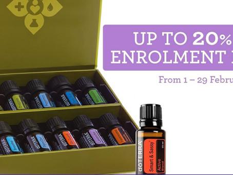 20% off enrolment kits ends soon!!