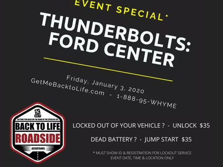 Evansville Thunderbolts - Event Special - Friday, January 3, 2020
