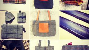 Des accessoires en Tweed s'invite en Pop Up
