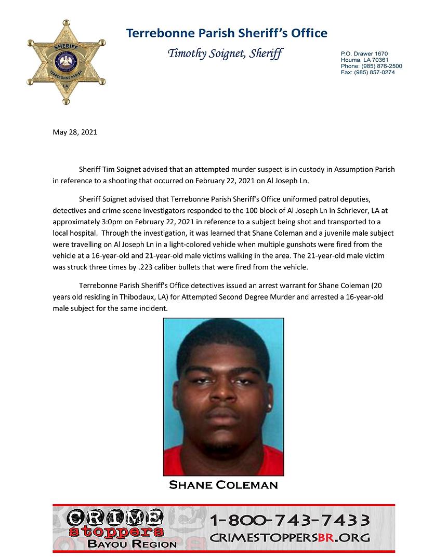 Shane Coleman Arrest.png