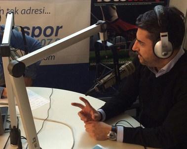 Dr. Serhat Tatlı Radyospor canlı yayınında