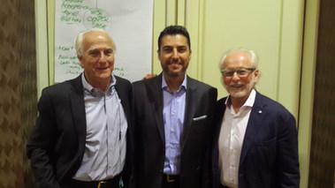 Dr. Serhat Tatlı Linkage Inc. Kurucusu Phil Harkins ve Richard Leider ile