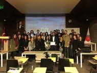 Dr. Serhat Tatlı İstanbul Kemerburgaz Üniversite öğrencileriyle