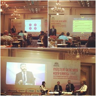 Dr. Serhat Tatlı Müşteri Deneyimi Konferansı 2017'de
