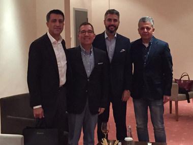 Dr. Serhat Tatlı Yaşar Holding liderleriyle