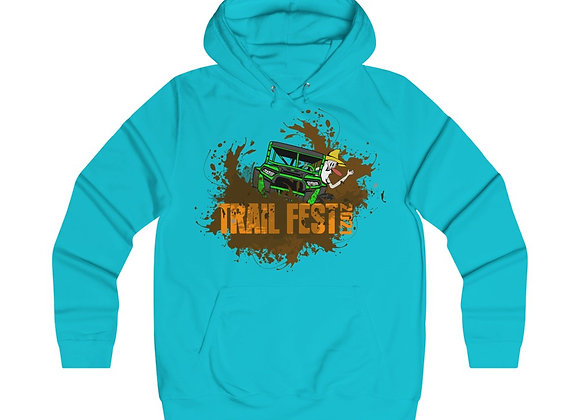 Girlie College Hoodie 2 Sided Print - Trail Fest Design 01-2