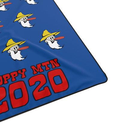 Polyester Blanket - Poppy Mtn Design 07 Navy Blue