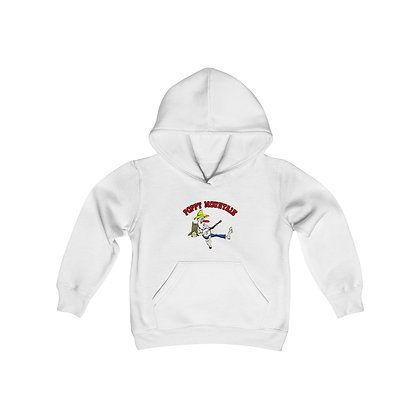 Youth Heavy Blend Hoodie - Poppy Mtn Design 02 2 Sided Print