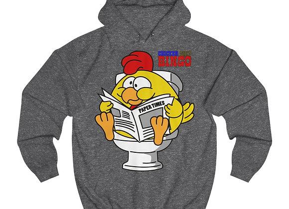 Unisex College Hoodie - Chicken Sh!t Bingo