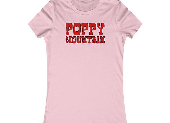 Women's Favorite Tee - Poppy Mountain
