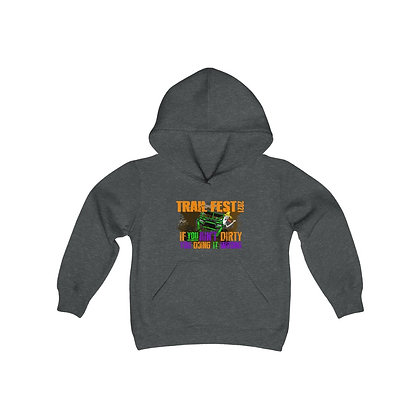 Youth Heavy Blend Hoodie - Trail Fest Design 03