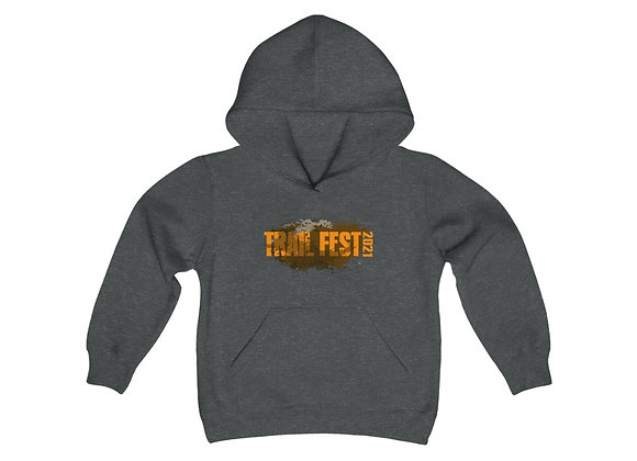 Youth Heavy Blend Hoodie - Trail Fest Design 01