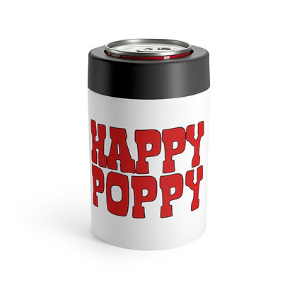 Heavy Duty Koozie - Happy Poppy