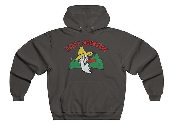 Men's NUBLEND® Hooded Sweatshirt - Poppy Mtn Design 01 2 Sided Print