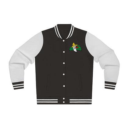 Women's Varsity Jacket - Poppy Mtn Design 01