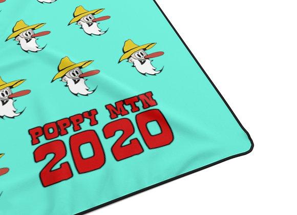 Polyester Blanket - Poppy Mtn Design 07 Teal