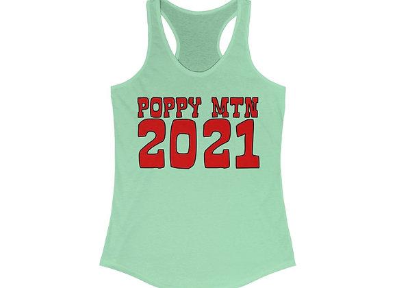 Women's Ideal Racerback Tank - Poppy Mtn 2021