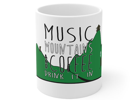 Music Mtns Coffee Mug 11oz
