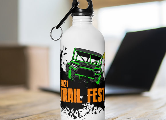 Water Bottle - Trail Fest 2021 Design 02