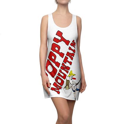 Women's Cut & Sew Racerback Dress - Poppy Mountain