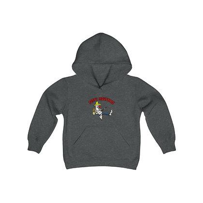 Youth Heavy Blend Hoodie - Poppy Mtn Design 02