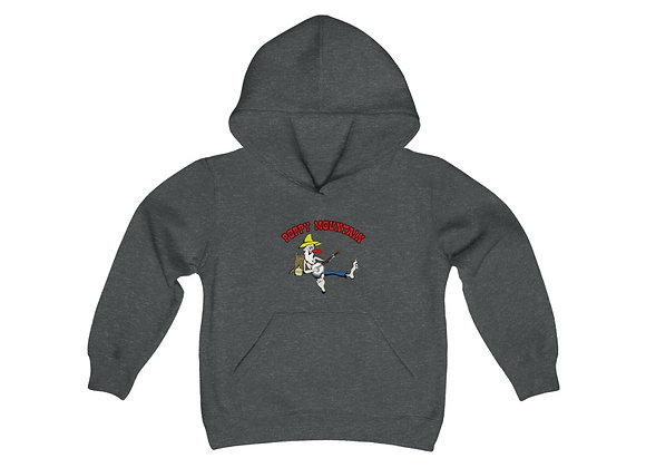 Youth Heavy Blend Hoodie - Poppy Mtn Design 02