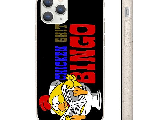 Samsung and iPhone Black Biodegradable Case - Chicken Sh!t Bingo