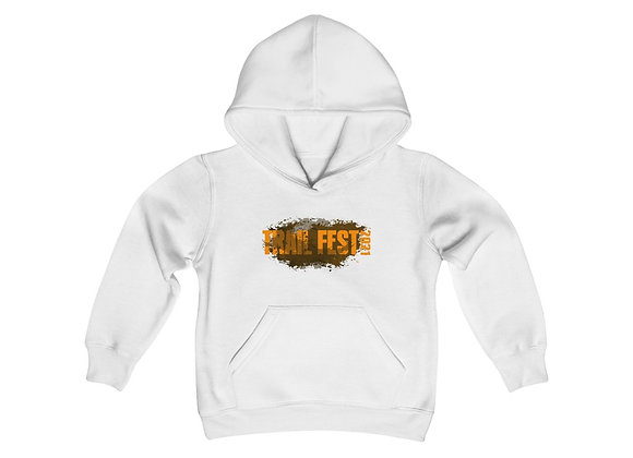 Youth Heavy Blend Hoodie - Trail Fest Design 01 2 Sided Print