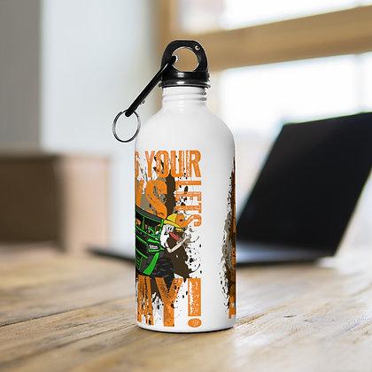 Stainless Steel Water Bottle - Trail Fest 2021 Design 06
