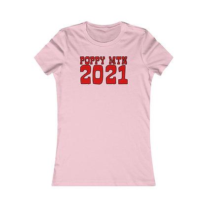 Women's Favorite Tee - Happy Poppy 2021