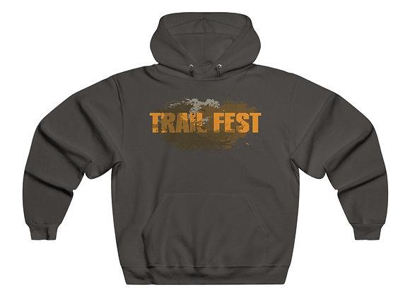 Men's NUBLEND® Hooded Sweatshirt - Trail Fest 2 Sided Print