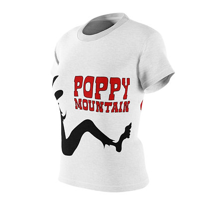 Women's AOP Cut & Sew Tee - Poppy Mud Flap 2 Sided Print