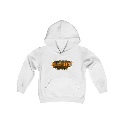 Youth Heavy Blend Hoodie - Trail Fest 2 Sided Print