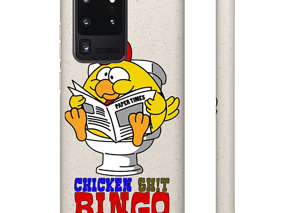 Samsung and iPhone Biodegradable Case - Chicken Sh!t Bingo 02