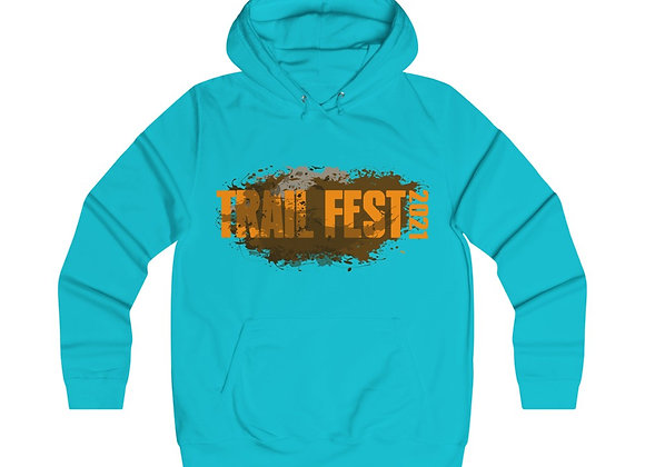 Girlie College Hoodie 2 Sided Print - Trail Fest Design 01-1